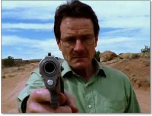 Bryan Cranston in Breaking Bad pilot